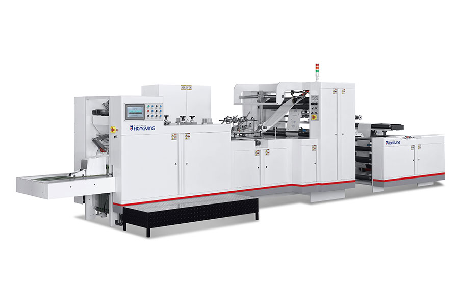 Full Automatic High Speed Paper Bag Making Machinery